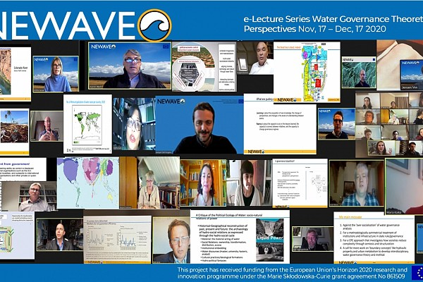 NEWAVE First Training Event: e-Lecture Series on Water Governance Theoretical Perspectives